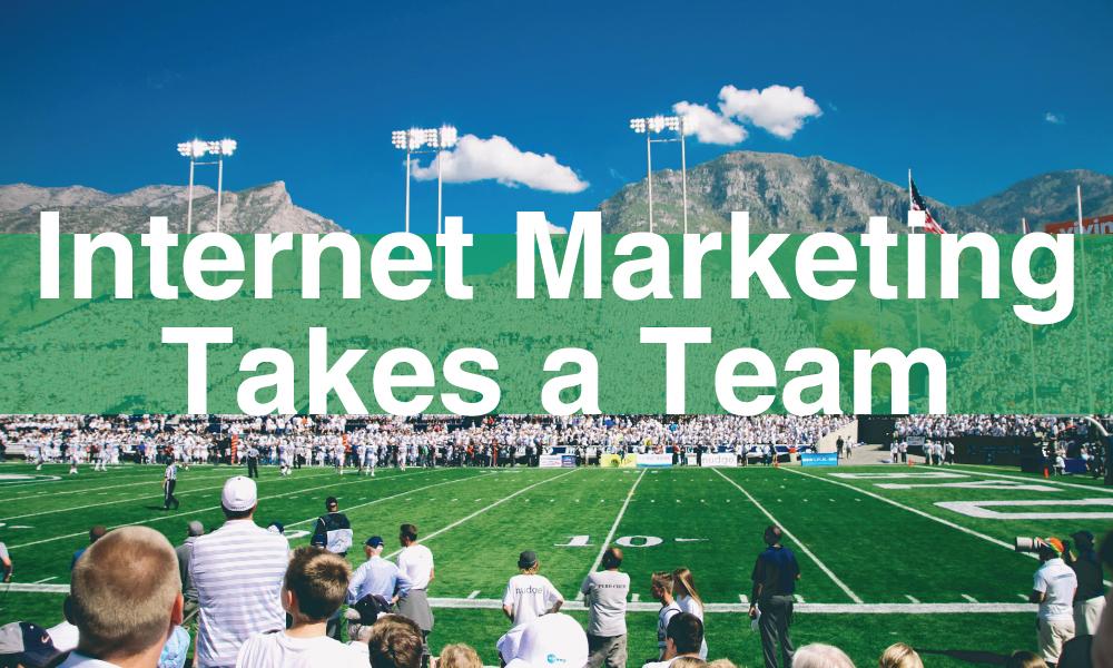 internet marketing team