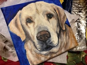 Chewy's Canvas Portrait of Murphy